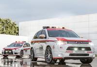 Mitsubishi Lancer Evolution y Outlander, safety cars oficiales de Pikes Peak