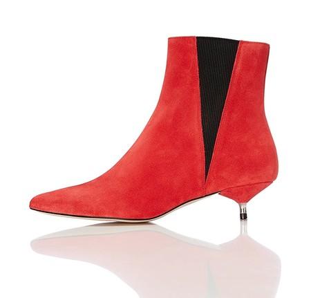 amazon find prendas shopping otoño botines rojos