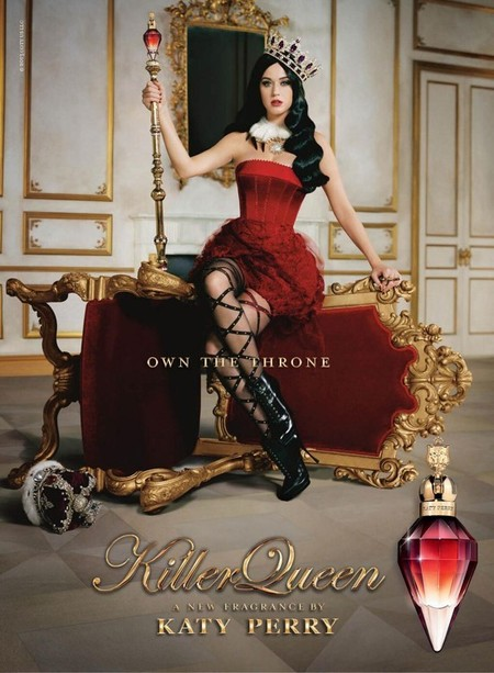 Llega Killer Queen, la tercera fragancia de Katy Perry