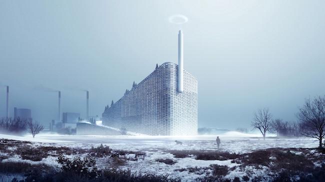 Con anillos de vapor es como esta planta de energía informará cuánto ha contaminado