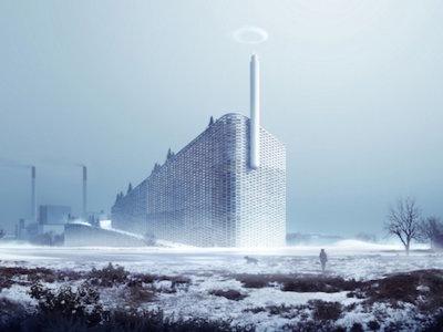Con anillos de vapor es cómo esta planta de energía informará cuánto ha contaminado