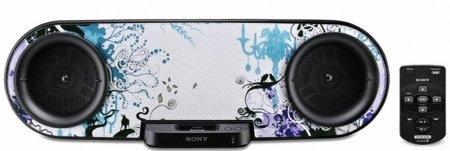 Sony te propone personalizar tu base para el iPod