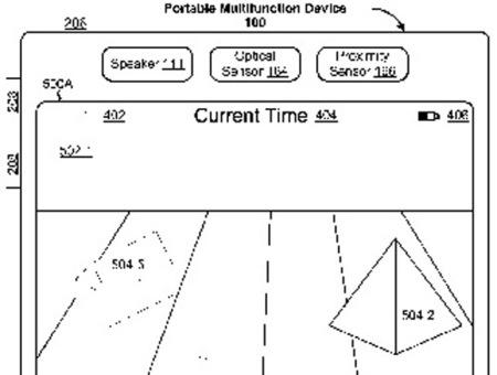Más patentes que apuntan a entornos multitáctiles en tres dimensiones