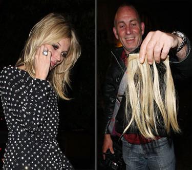Kate Moss pierde la sobriedad y el pelo