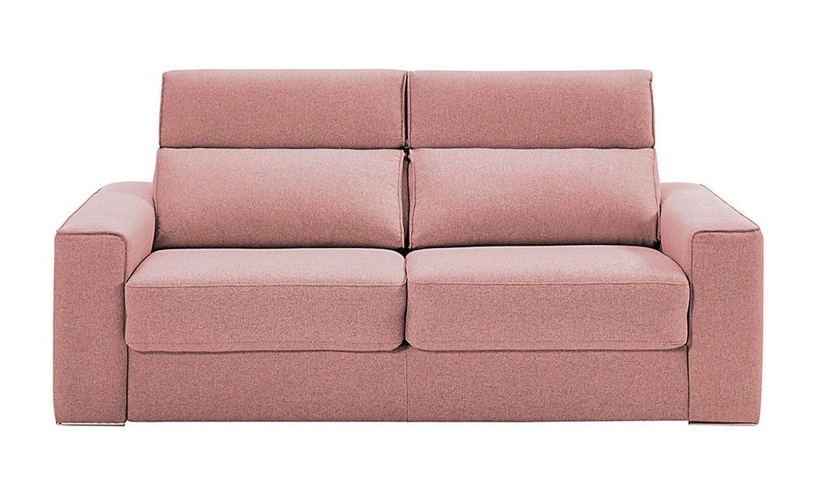 Sofá cama tapizado de 2 plazas