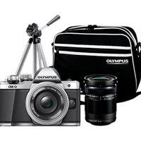 Mediamarkt tiene en su Red Sale tu kit fotográfico para las vacaciones: Olympus OMD E-M10 con 2 objetivos, trípode y bolso por 595 euros