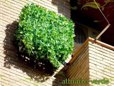 Attuaire, pantalla decorativa para ocultar el aire acondicionado