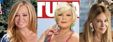Belén Esteban, Terelu Campos y Carmen Borrego enseñan sus jamones en bikini y Ana Obregón anuncia una gran noticia: estas son las portadas del miércoles 21 de julio