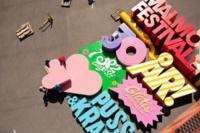 El cartel más grande del mundo creado para el Festival Malmö 2014