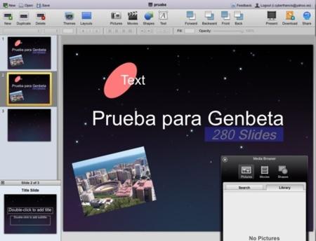 280 Slides, nueva opción para crear pases de diapositivas online