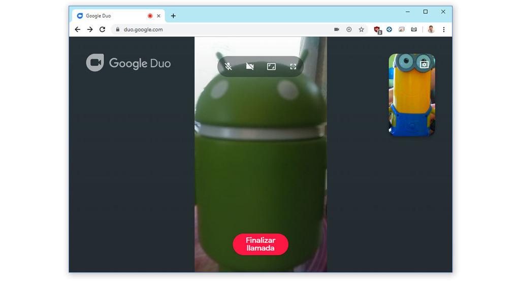 Come fare video del Duo dalla versione web di Messaggi