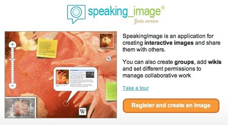 SpeakingImage, notas interactivas sobre cualquier imagen
