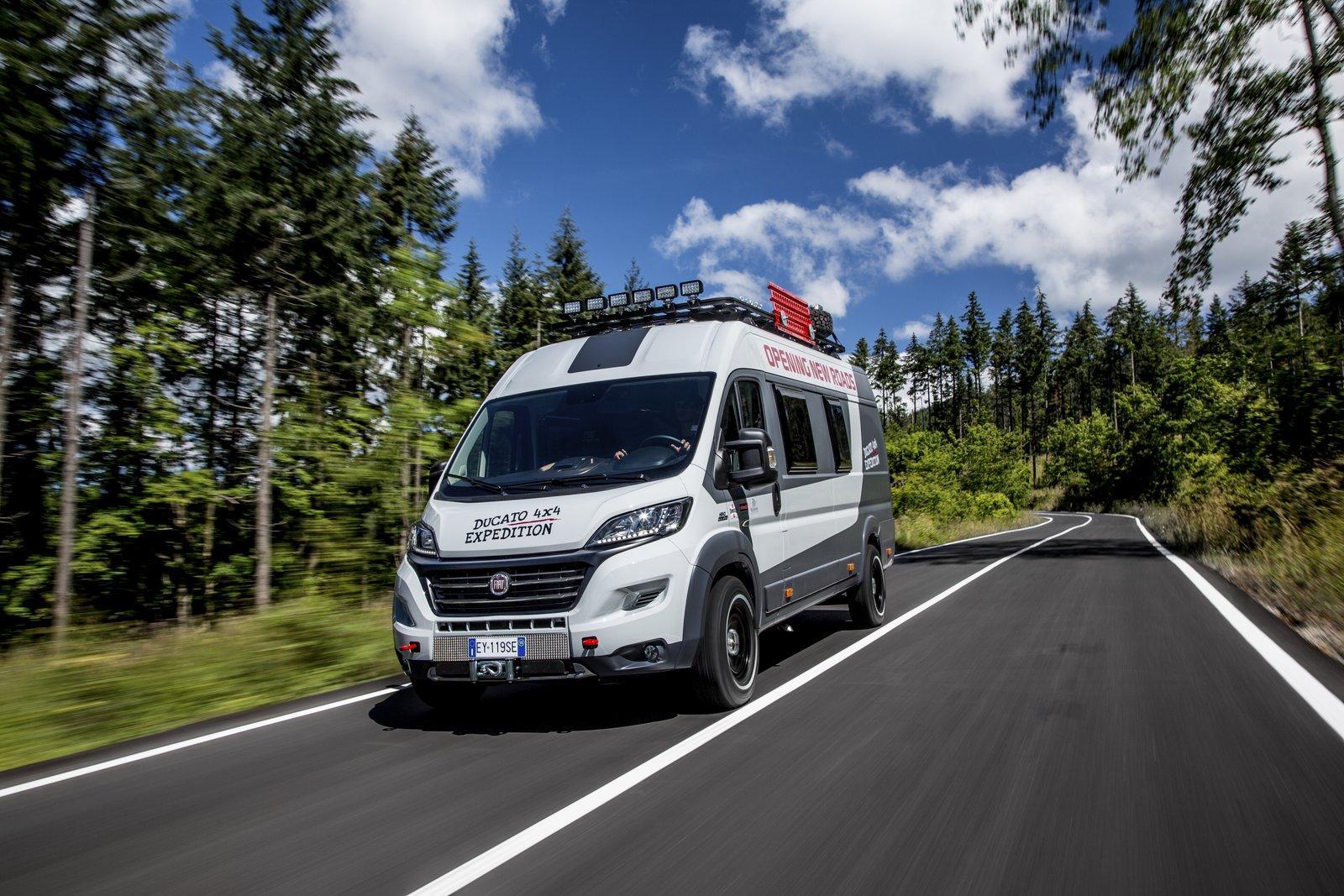 fiat ducato 4x4 expedition la furgoneta aventurera que quer a ser autocaravana. Black Bedroom Furniture Sets. Home Design Ideas
