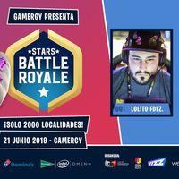 Estos son todos los 100 youtubers y streamers participantes en el torneo de Fortnite de Lolito en Gamergy, el Stars Battle Royale