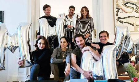 Paula Echevarría festeja la próxima llegada de su bebé en una 'baby shower' junto a sus amigos y a Miguel Torres