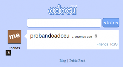 Adocu, introduciendo el nano-blogging
