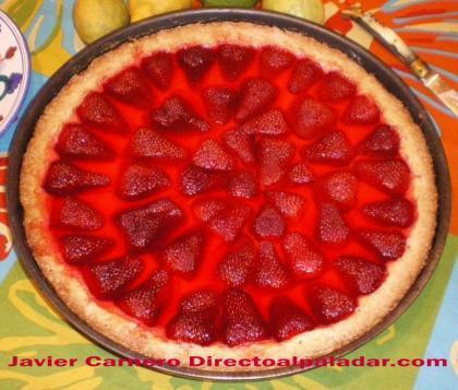 Tarta de fresas y su gran secreto. Receta