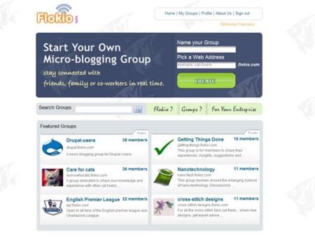 Flokio, crea redes de microblogging para grupos de usuarios