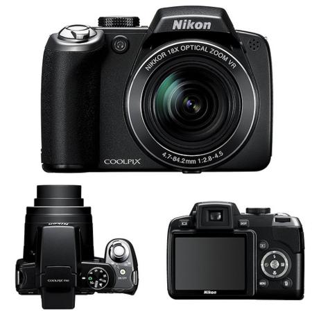 Fundiendo Visa: cámara Nikon Coolpix P80