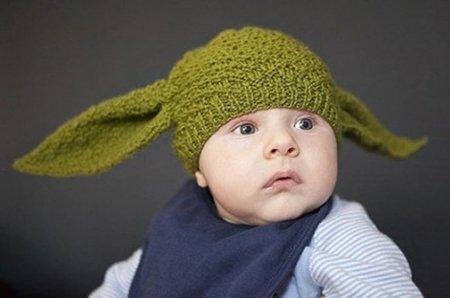 Convierte a tu peque en Yoda