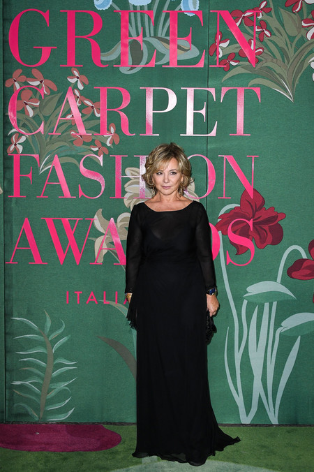 Alberta Ferretti green carpet fashion awards 2019