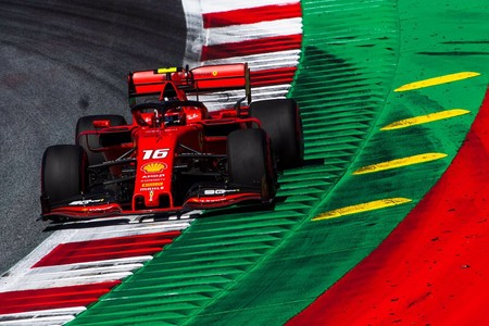 Leclerc Austria F1 2019
