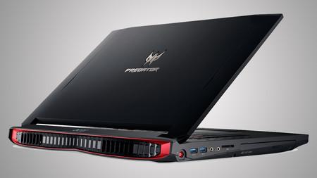Acer Predator 17 Back