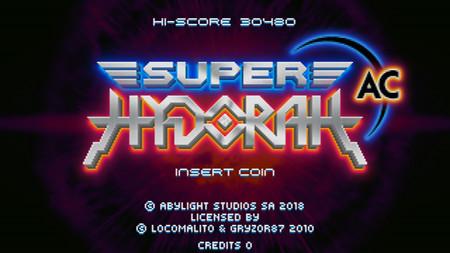 Anunciada la máquina recreativa de Super Hydorah con algunas novedades exclusivas