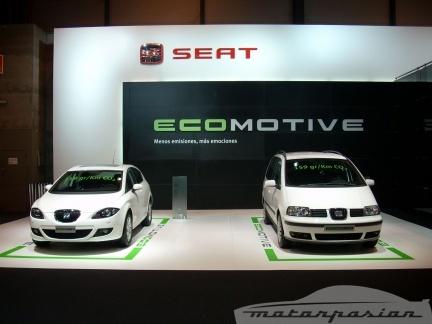 SEAT Alhambra y Leon Ecomotive