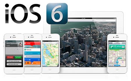 iOS 6 presentado oficialmente con muchas mejoras y una gran renovación general
