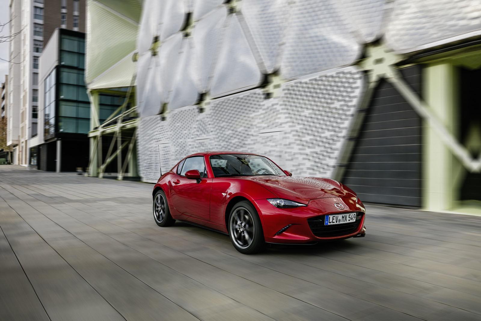Mazda MX-5 RF (toma de contacto)