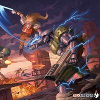 Blazing Chrome y Chroma Squad entre los juegos para descargar gratis con Twitch Prime en agosto