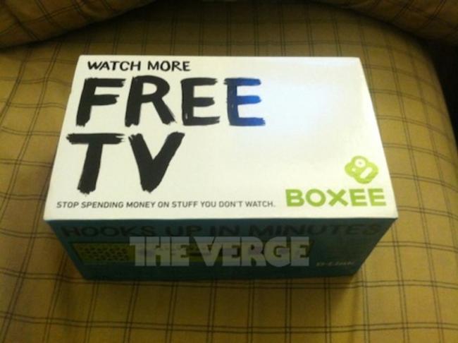 Boxee tv posible imagen