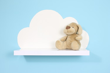 Hazlo tú mismo: una estantería con forma de nube paso a paso