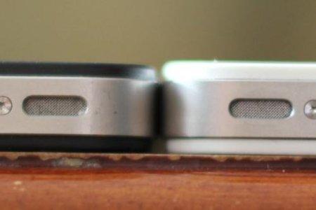 El grosor del iPhone 4 blanco puede traer problemas a los desarrolladores de carcasas
