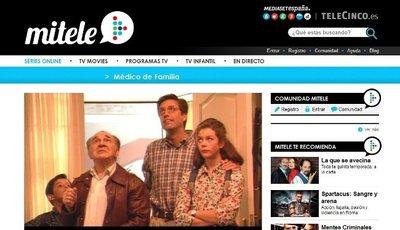 Mediaset rescata en Internet 'Médico de familia', ofrece series internacionales y colgará 'Terra Nova'
