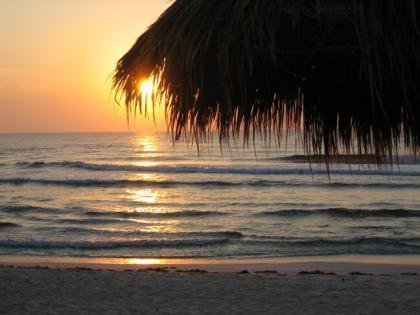 Amanecer en la Riviera Maya