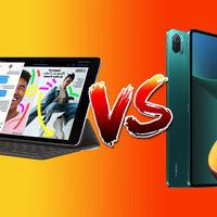 Estas son las diferencias entre el iPad de 2021 y la Xiaomi Pad 5