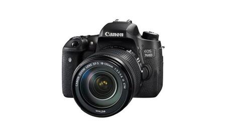 Canon EOS 760D, con objetivo 18-135 estabilizado, por 790,96 euros en eBay