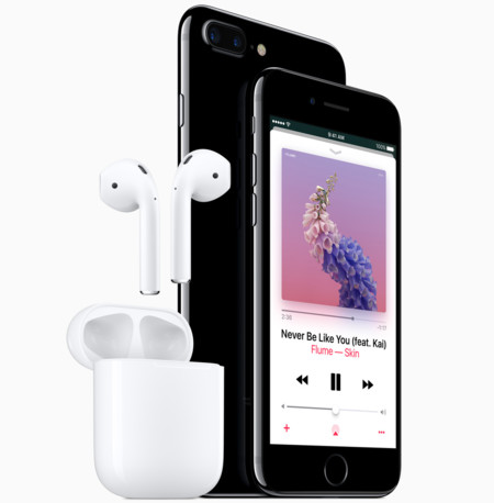 Apple Iphone7 Jetblk Airpod