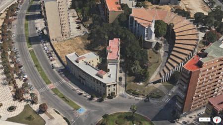 Vista Flyover de los Mapas de Apple (Algeciras)