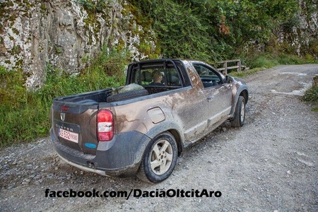 Dacia Duster pick-up (prototipo)
