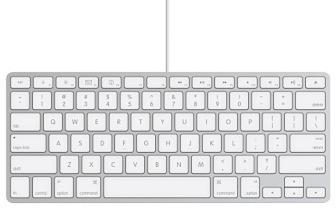 Lo que nadie esperaba: nuevo Apple Keyboard