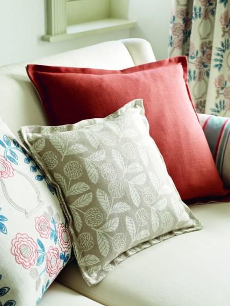 Maida Seed Stitch Cushion Detail Portrait