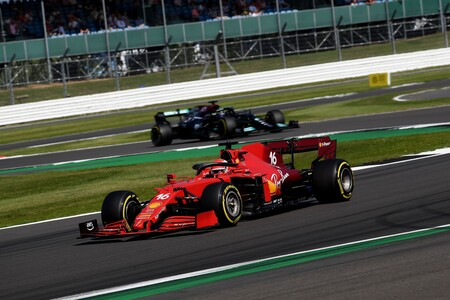 Leclerc Gran Bretana F1 2021
