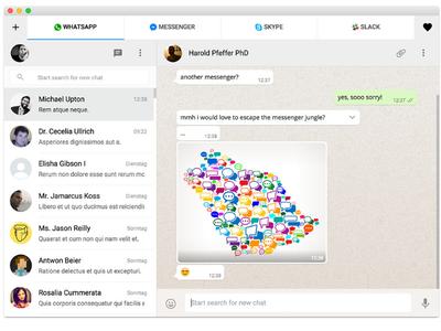 Con esta aplicación para Chrome puedes usar WhatsApp, Telegram, Messenger, Skype y más desde un mismo lugar