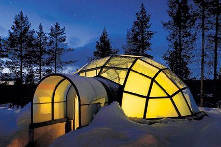 Igloo-Hotel-Kakslauttanen-Saariselka-Finlandia