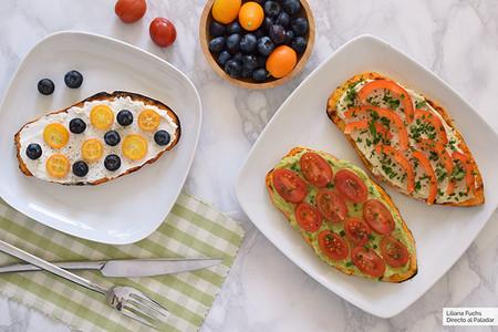Tostadas De Boniato Recetas Desayuno Sano Facil Y Rapido