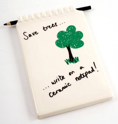 Cuaderno de cerámica