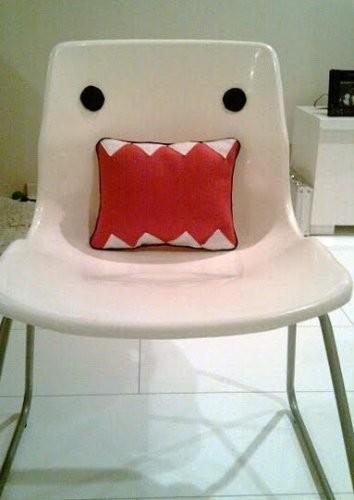 Hazlo tú mismo: silla Domo Kun